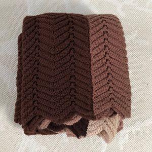 Hand made crochet throw blanket